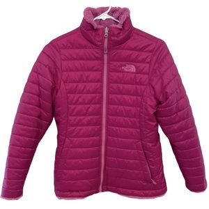 The North Face Girls Mossbud Reversible Jacket
